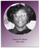 Soror Moore served as the first chapter president.  Under her leadership, the first Jabberwock was held and 4 women were initiated in 1954.
