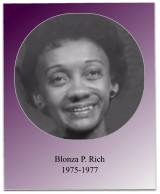 Soror Rich's administration included the initiation of 4 new members, the 1977 Jabberwock, and the implementation of financial aid workshops.